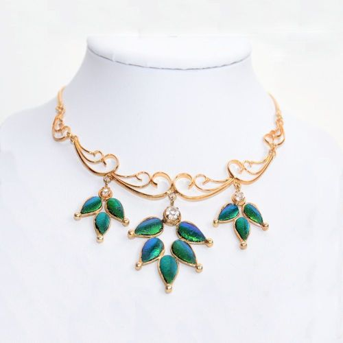 "Gold-collier 18k plated ""princess"" ca. 36-40 cm"