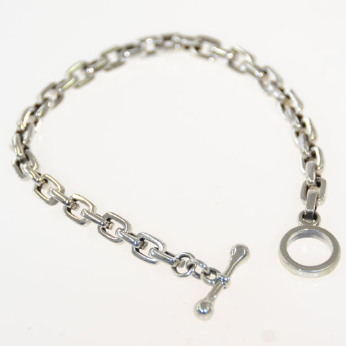 "Armband 925 Sterling Silber - ""Anchorchain"" 22cm"